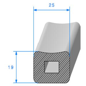 Carré Cellulaire   [19 x 25 mm]   Vendu au Mètre