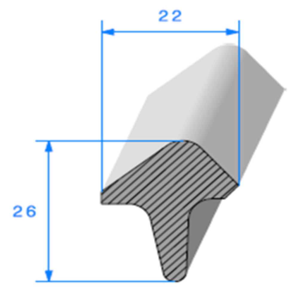 Té Cellulaire   [26 x 22 mm]   Vendu au Mètre