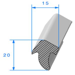 Té Cellulaire <br /> [20 x 15 mm] <br /> Vendu au Mètre<br />