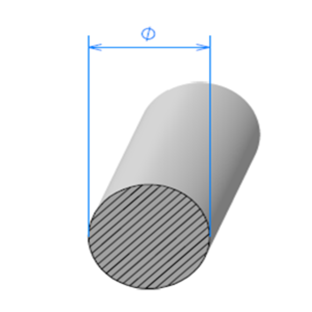 Corde Cellulaire EPDM   [Ø 12 mm]   Vendu au Mètre