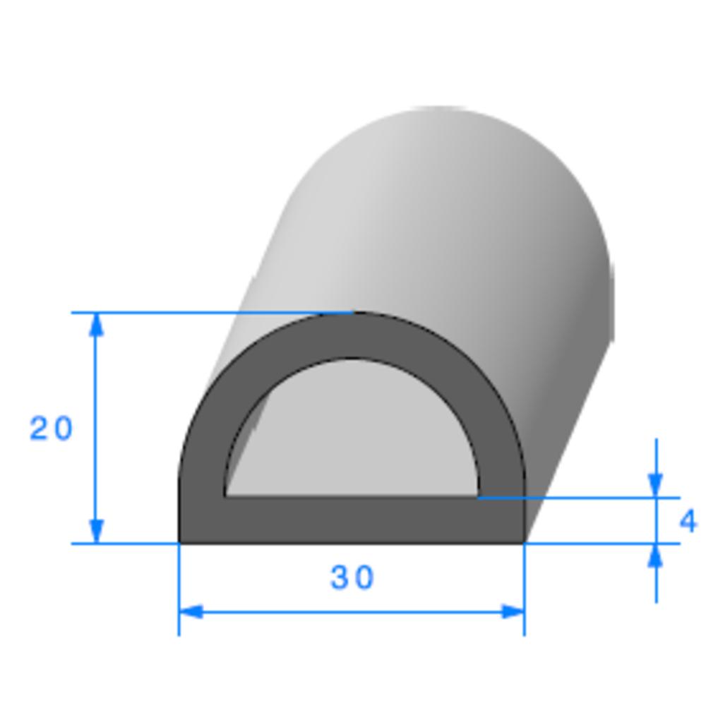 Compact Bourrelet   [30 x 20 mm]   Vendu au Mètre