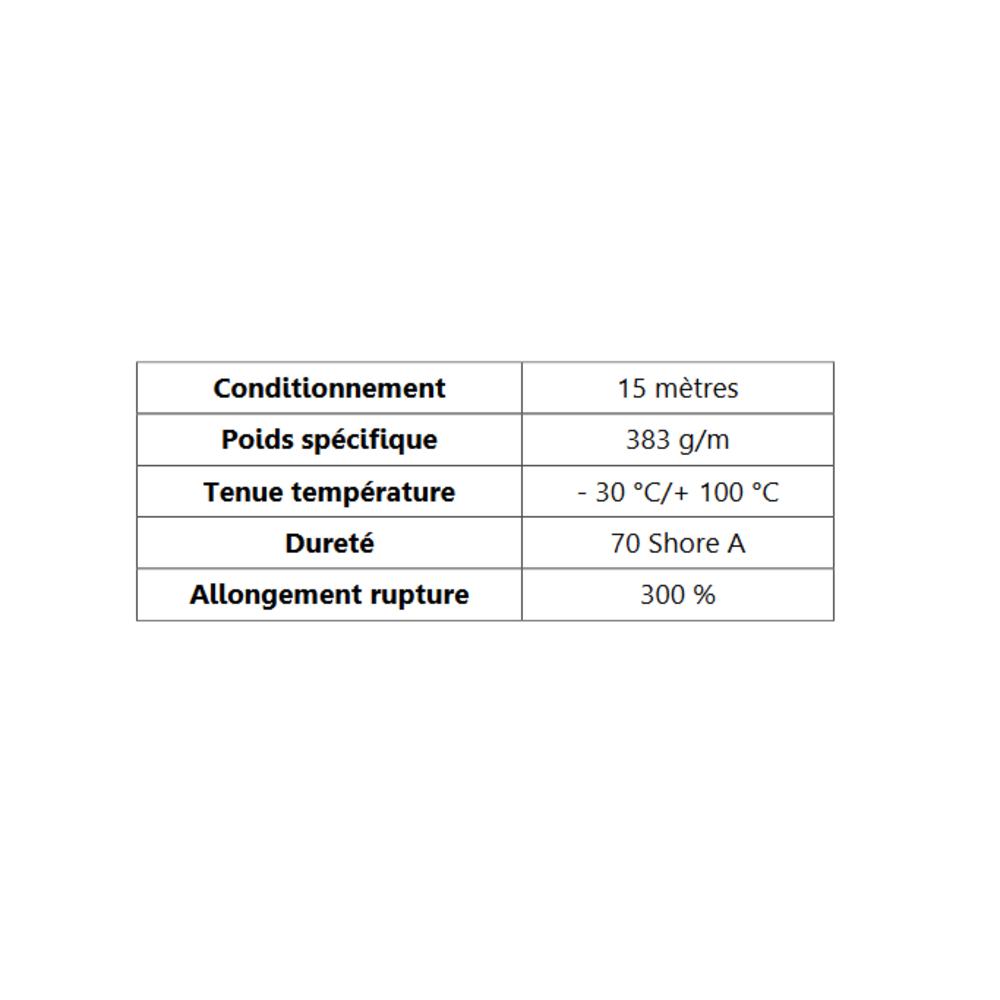 Compact Bourrelet   [20 x 30 mm]   Vendu au Mètre