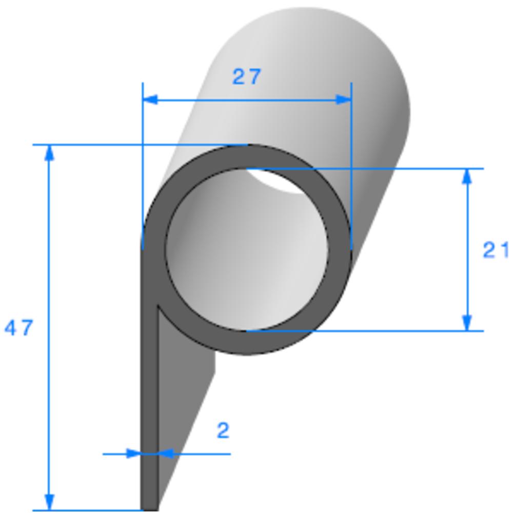 Note de Musique   [47 x 27 mm]   Vendu au Mètre