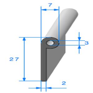 Note de Musique   [27 x 7 mm]   Vendu au Mètre