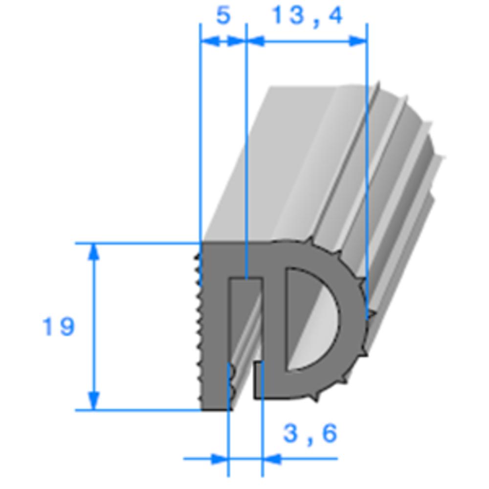 Isotherme   [19 x 18,4 mm]   Vendu au Mètre