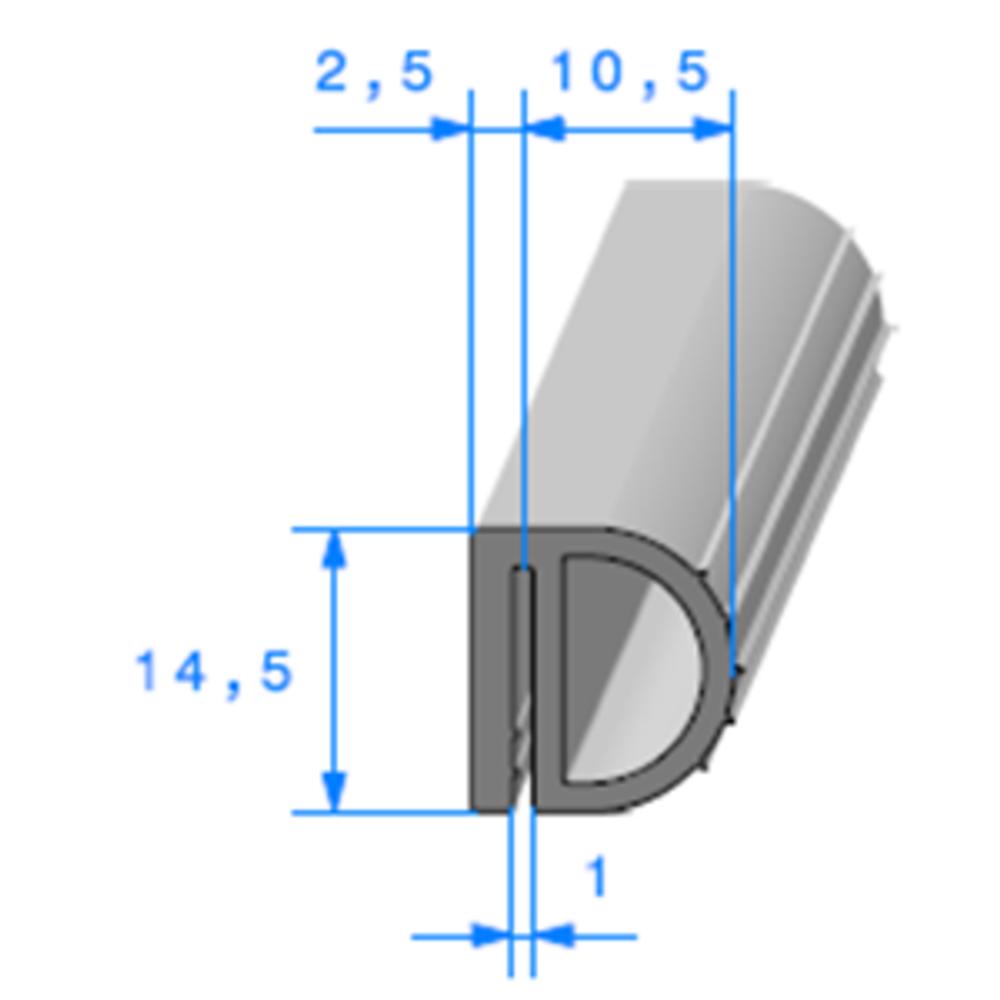 Isotherme   [14,5 x 13 mm]   Vendu au Mètre