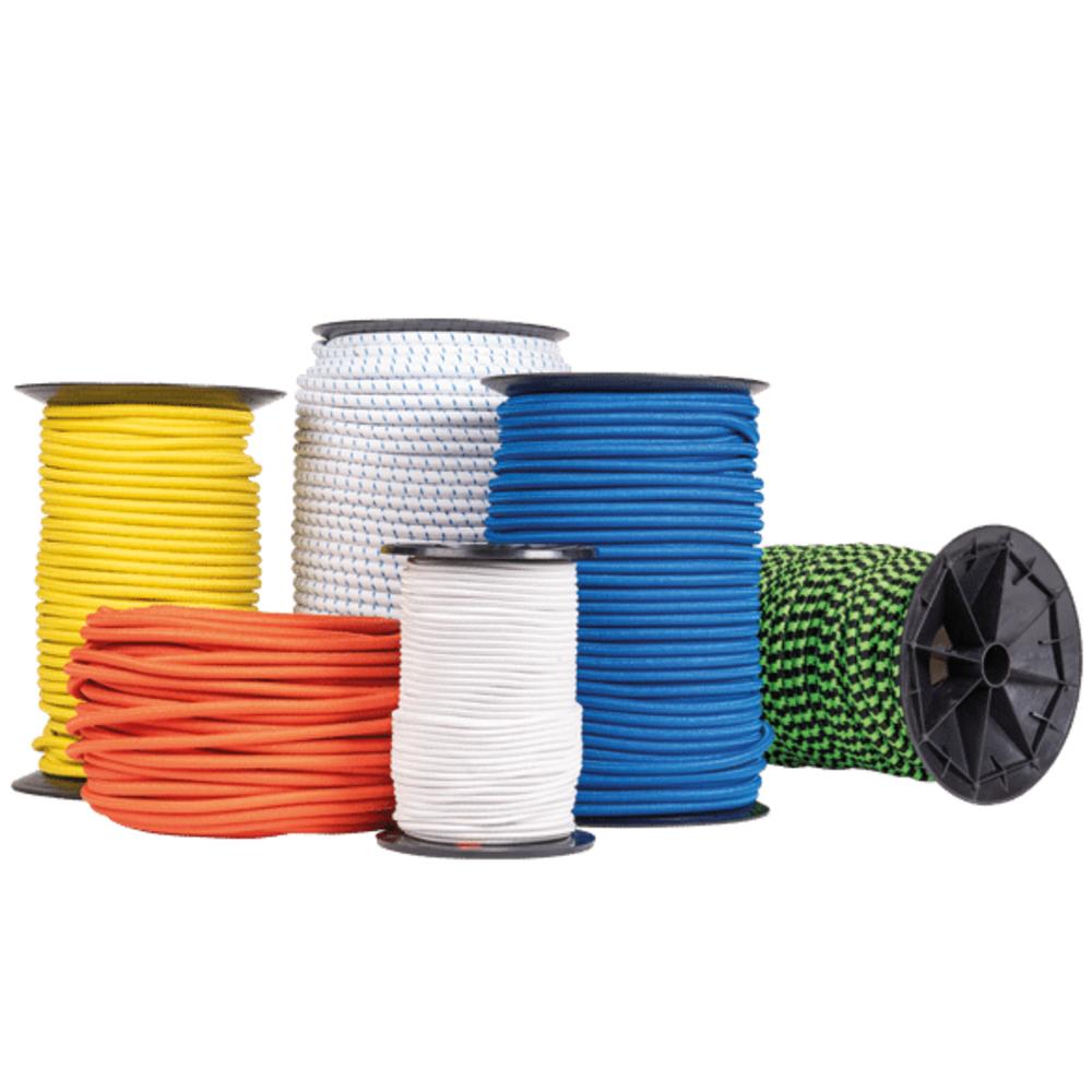 Cable Elastique Blanc   Vendu au Mètre