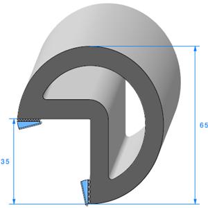 Butoir pour Angle ADH [2x10 mm] LARGE