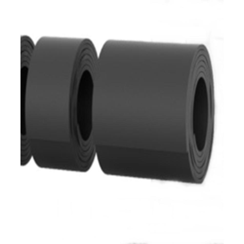 Bavette CC Noir   [300 x 15 mm]   Vendu en Couronne (5 ML)