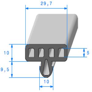 Protection Glace Alvéole   [30 x 20 mm]   Vendu au Mètre