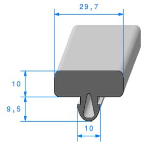 Protection Glace   [19,5 x 29,7 mm]   Vendu au Mètre