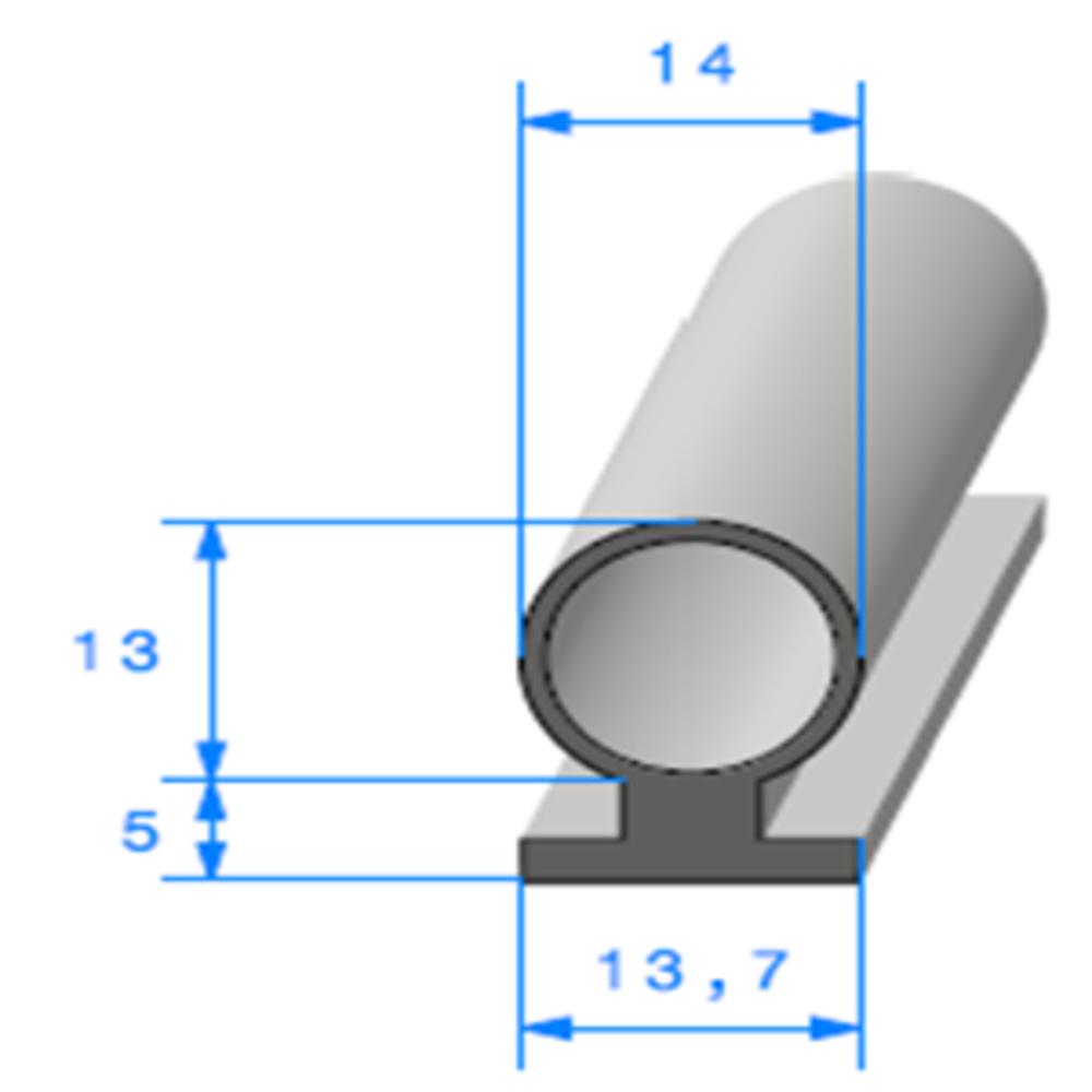 Prof à Talon   [14 x 18 mm]   Vendu au Mètre