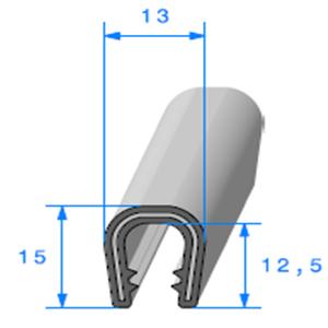 Pince PVC Armé 5/6 mm   Vendu au Mètre