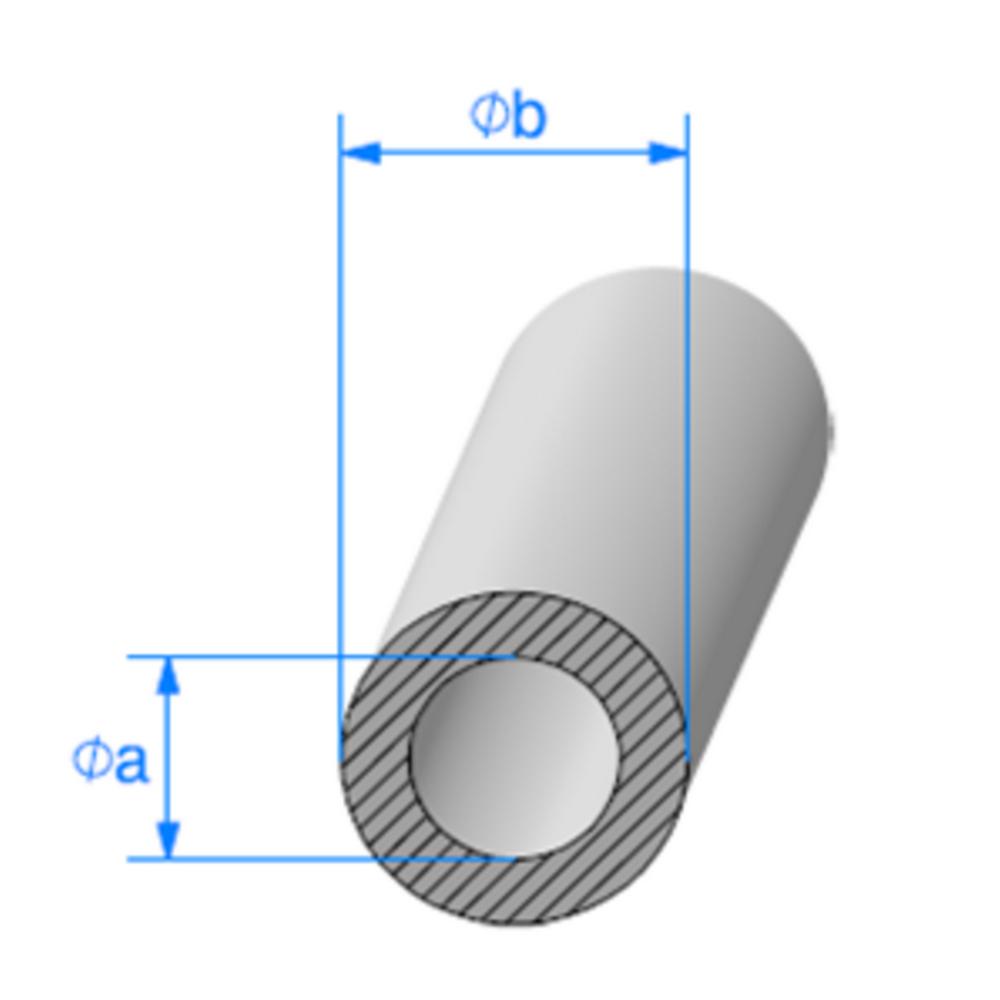 Rond EPDM Cellulaire   [16 x 26 mm]   Vendu au Mètre