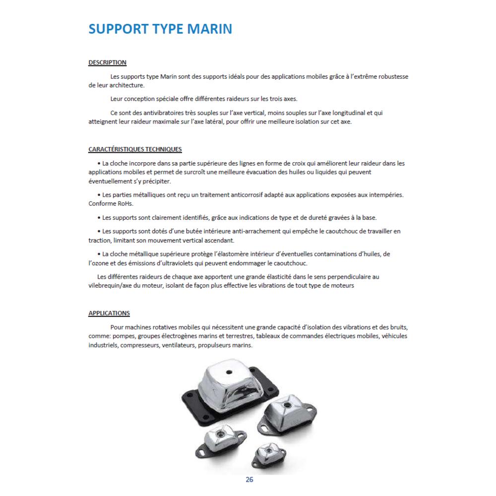 Support Marin Petit