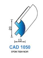 CAD1050N Profil EPDM   70 Shore   Noir