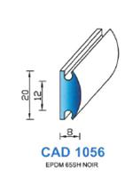 CAD1056N Profil EPDM   65 Shore   Noir
