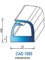 CAD1085C Profil EPDM   60 Shore   Couleur