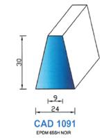 CAD1091N Profil EPDM [65SH] NOIR