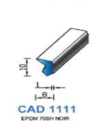 CAD1111N Profil EPDM   70 Shore   Noir