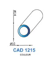 CAD1215B Profil EPDM   70 Shore   Blanc