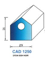 CAD1250N PROFIL EPDM - 50SH - NOIR