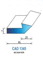 CAD1345N Profil NEO   60 Shore   Noir
