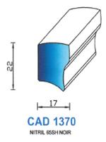 CAD1370B Profil NBR   65 Shore   Blanc