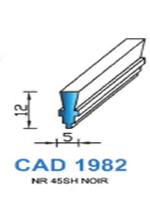 CAD1982N Profil NBR   45 Shore   Noir