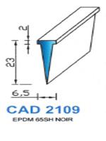 CAD2109N Profil EPDM [65 SH] NOIR