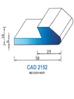 CAD2152N Profil NEO   60 Shore   Noir