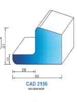 CAD2156N Profil NEO   60 Shore   Noir