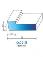 CAD2158N Profil NEO   70 Shore   Noir