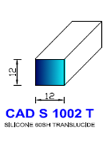CADS1002T SILICONE Compact [60SH] TRANSLUCIDE