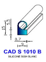 CADS1010B SILICONE Compact [50SH] BLANC