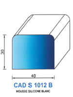 CADS1012B SILICONE Cellulaire <br /> Blanc<br />