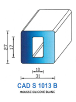 CADS1013B SILICONE Cellulaire <br /> Blanc<br />
