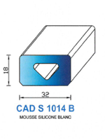CADS1014B SILICONE Cellulaire <br /> Blanc<br />