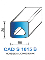 CADS1015B SILICONE Cellulaire <br /> Blanc<br />