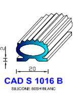 CADS1016B SILICONE Compact [60SH] BLANC