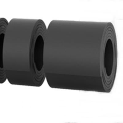 Bavette CC Noir   [150 x 15 mm]   Vendu en Couronne (5 ML)