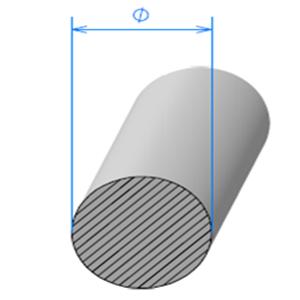 Corde Cellulaire EPDM   [Ø 5 mm]   Vendu au Mètre