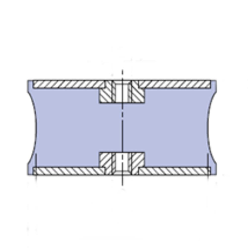 Plot Antivibratoire F Type C