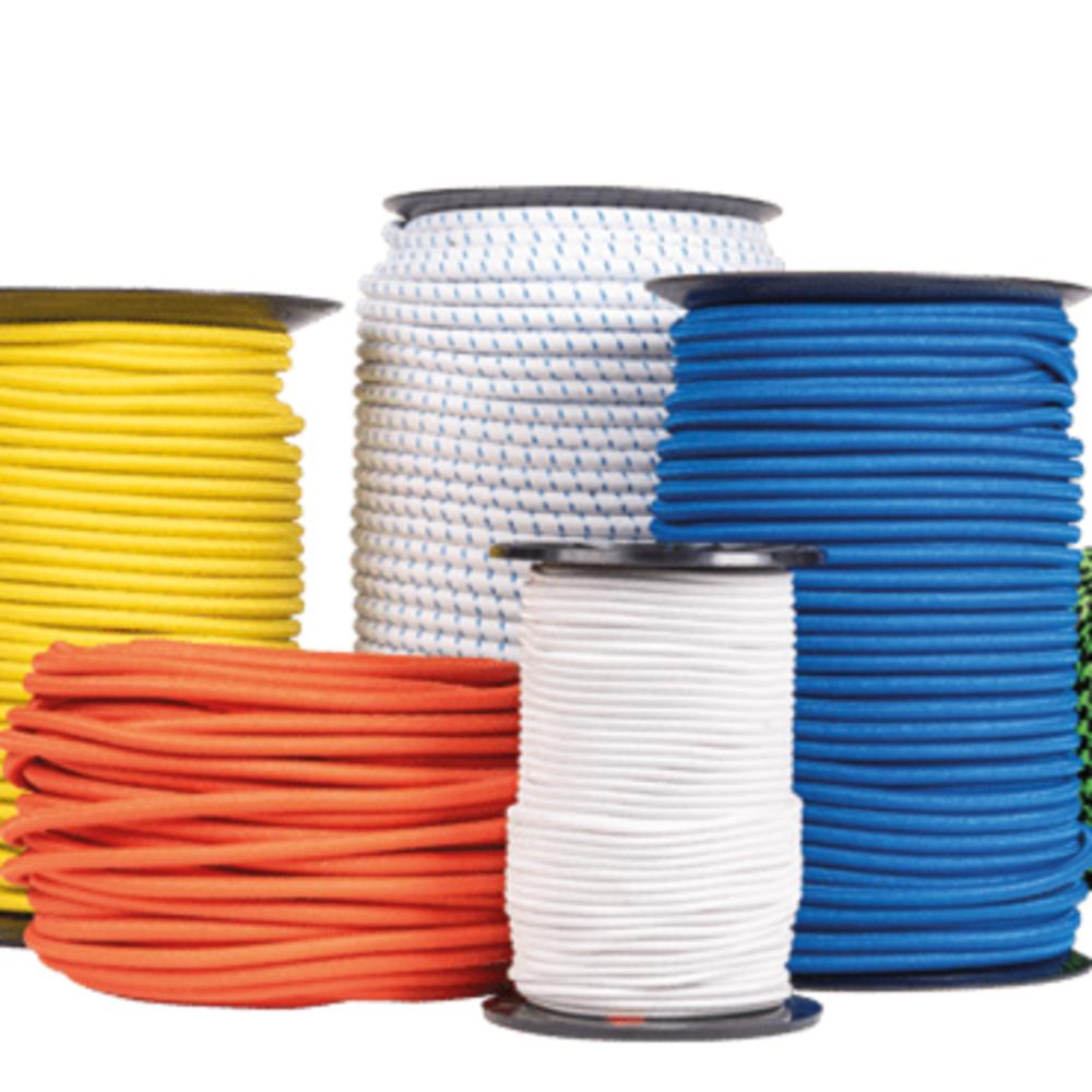Cable Elastique Rouge   Vendu au Mètre