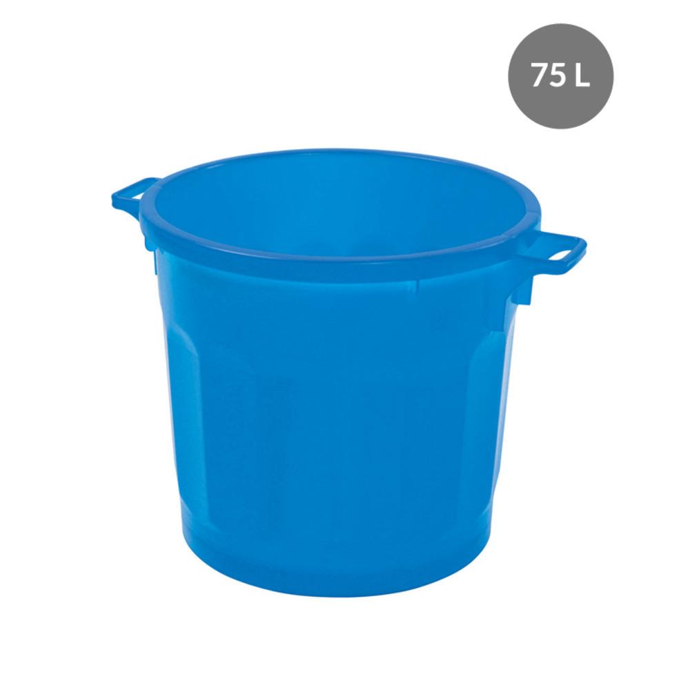 Container rond emboitable BLEU
