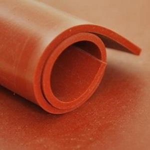 Feuille Silicone Rouge   [EP 3 mm]   Vendu au Mètre Linéaire 1m = 1,2 m²