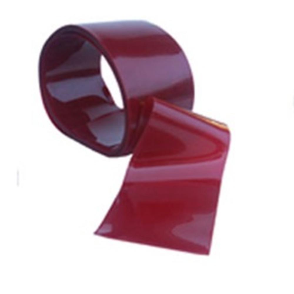 Lanière PVC Rouge   [200 x 2 mm]   Vendu en Couronne (50 ML)