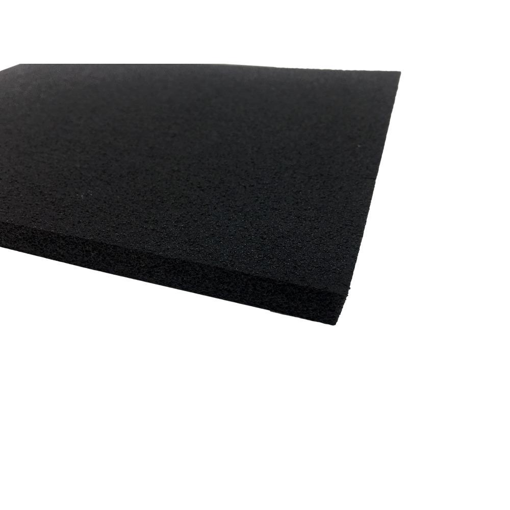 Plaque Mousse EPDM Cellulaire   Non adhésive   Format (2000 x 1000 mm)