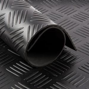 Tapis cc Checker   [EP 3 mm] Noir   Vendu au Mètre