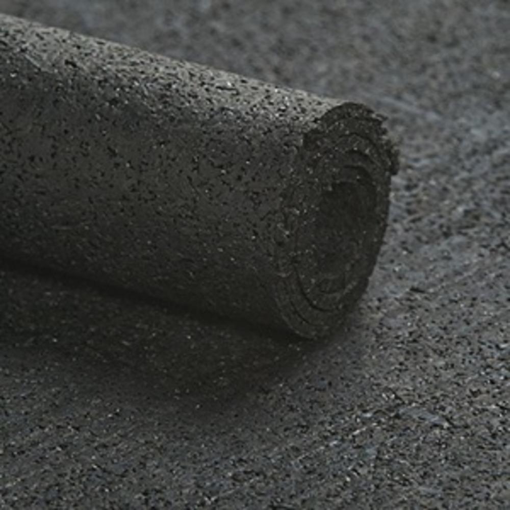 Caoutchouc Régénéré R12 Noir   [EP 6 mm]   Vendu au Mètre